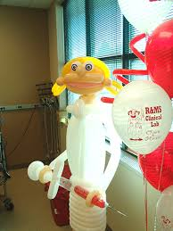 balloon nurse u0026 printed balloon bouquets party ideas pinterest