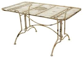 Bamboo Patio Set by Metal Bamboo Patio Set Dinette Eclectic Outdoor Dining Sets Metal