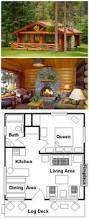 Rustic Cabin Plans Floor Plans 815 Best Log Homes U0026 Log Cabins Images On Pinterest Log Cabins