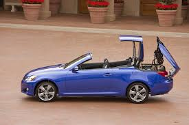 lexus pre owned convertibles lexus debuts affordable luxury convertibles with 2010 is c new
