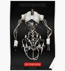 ex machina poster ex machina posters redbubble