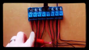 video 1 of 3 controlling christmas lights with a raspberry pi