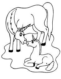 coloring pages baby unicorns bltidm