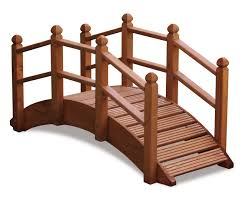 wooden garden bridge plans home outdoor decoration