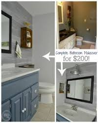 cheap bathroom ideas makeover 5 bucks a sheet of glass tile made a cheap and great upgrade