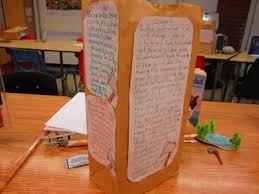 paper bag book report template runde s room paper bag characterization