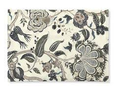 Williams Sonoma Table Linens - new williams sonoma french floral placemats navy set of 4 table