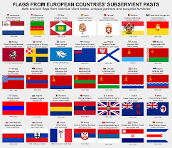 Flags Of Countries Flags From European Countries U0027 Subservient Pasts X Post From R