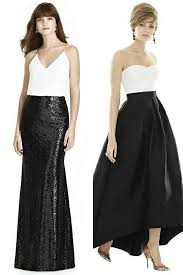 black and white wedding bridesmaid dresses the dessy the spot for all things bridesmaid