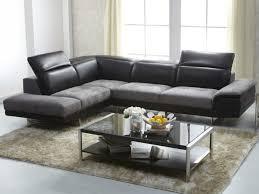 canapé d angle bi matière canapé d angle bimatière cuir et microfibre eclipse noir et gris