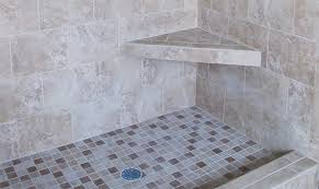 how to install a tiled corner shower seat part two build
