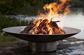 Wood Firepits Outdoor Pits And Bowls Wood Outdoor Living By