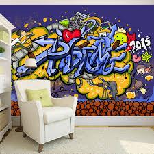 3d murals custom 3d mural wallpaper modern abstract graffiti art mural wall