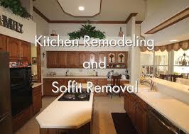 kitchen cabinet soffit lighting kitchen remodeling and soffit removal kbf design gallery