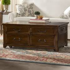lift top trunk coffee table lift top coffee tables you ll love wayfair