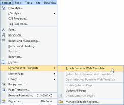 creating an expression web dynamic web templates dwt u0027s