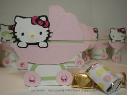 hello kitty babyshower cimvitation