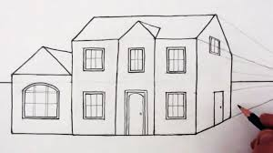 house to draw drawing modern dream house drawing easy in conjunction with