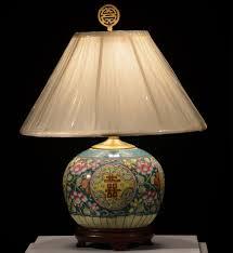 antique ginger jar lamp