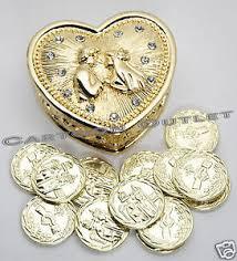 arras de boda wedding ceremony gold heart arras de boda 13 unity coins