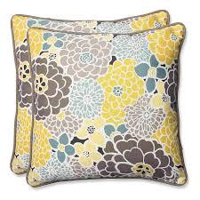 pillow outdoor bloom throw pillow 18 5