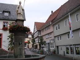 Weihnachtsmarkt Bad Hersfeld Rathaus Und Lullusbrunnen In Bad Hersfeld Mapio Net