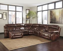 Ashley Furniture Microfiber Sectional Elemen Harness Leather Sectional W Laf Power Chaise The Classy