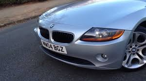 2004 bmw z4 2 5i manual roadster walk around for sale youtube