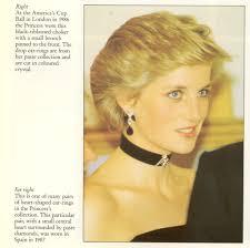 princess diana s engagement ring diana u0027s diamond and gemstone necklaces