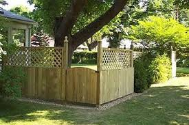 Backyard Privacy Fence Ideas Privacy Fence For Patio Home Design Ideas
