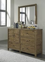 light brown b544 4 pc twin bedroom set