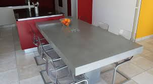 table de cuisine design table basse aspect beton 14 plan cuisine design en b233ton cir233