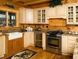 log home kitchen ideas log cabin cabinets best log cabin kitchens ideas on log home