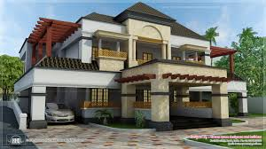 Traditional Style Home by June 2013 Kerala Home Design And Floor Plans