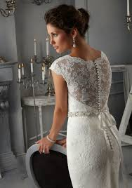 Lace Wedding Dresses Morilee Bridal Allover Alencon Lace Wedding Dress With Beaded