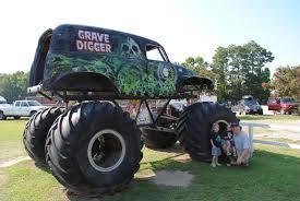 a monster truck show sometimes involves the truck crushing smaller