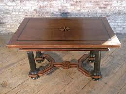 antique draw leaf table 17th century inlaid dutch draw leaf table for sale at 1stdibs