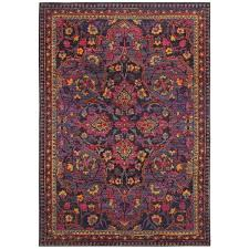 Magenta Area Rug Style Magenta Nights Navy Pink Area Rug 3 10 X 5 5 Free