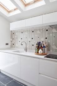 kitchen feature wall ideas contemporary kitchen side extension feature wall sleek