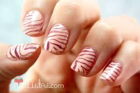 imagenes de uñas decoradas con konad uñas decoradas con animal print de cebra konad m57 nailistas