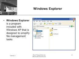 tutorial xp windows xp tutorial 3 new perspectives on microsoft windows xp 1 microsoft
