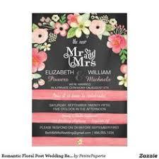 wedding re post wedding reception only invitations denim diamonds
