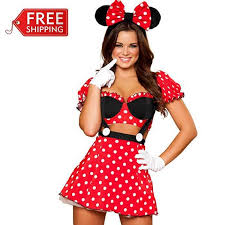 Halloween Costumes Red Minnie Mouse Costumes Adults Halloween Costumes Women