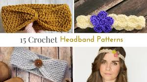 crochet headband free crochet headband patterns