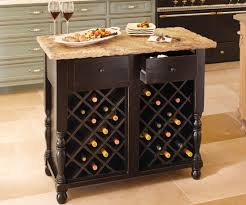 kitchen island cart with wine rack bcep2015 nl