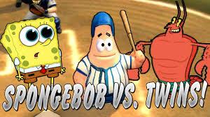 can the spongebob squarepants cast beat the twins nicktoons mlb