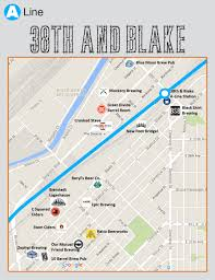 Portland Airport Terminal Map by Breweries In Walking Distance Of Denver U0027s Rtd A Line