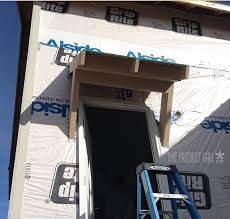 Building Awning Over Door The Project House U2013 Construction Week 15 Jenallyson The
