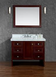 beckonridge 42 single sink bathroom vanity set with mirror
