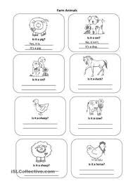 all worksheets domestic animals worksheets kindergarten free